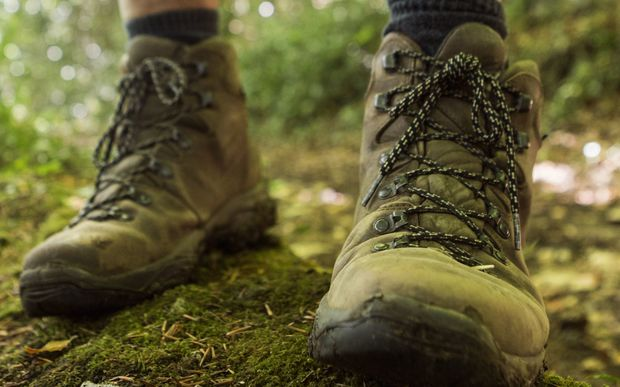tramping boots