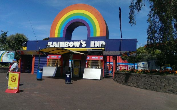 Rainbow's End entrance