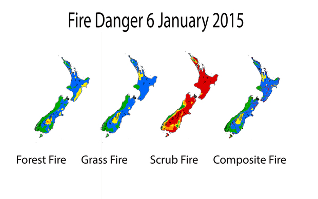 Fire Danger graphic
