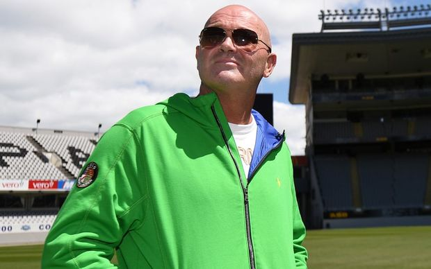 Martin Crowe during an open media briefing at Eden Park on 7 January.