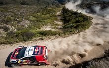 Action during the Rally Dakar 2015