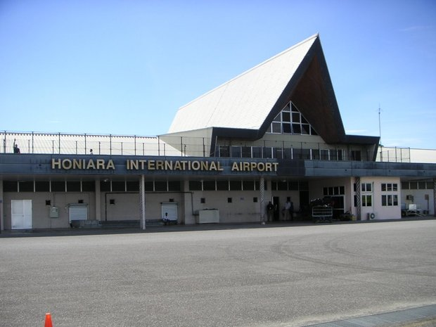 Honiara international airport, Solomon Islands