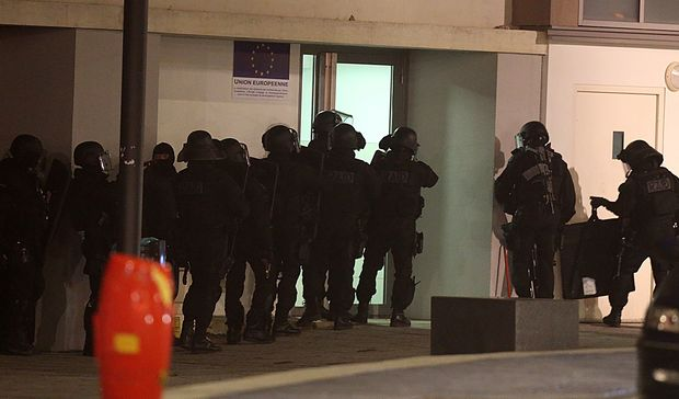 Over 500 armed police have been involved in the search for the suspects.