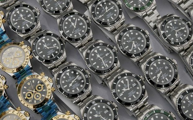 Fake Rolex watches.