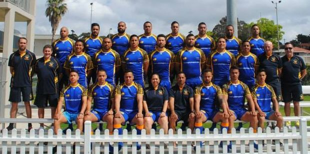 Niue rugby league team.
