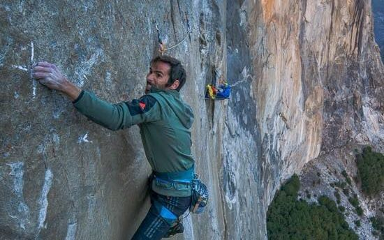 Kevin Jorgeson and Tommy Caldwell climb El Capitan's Dawn Wall.