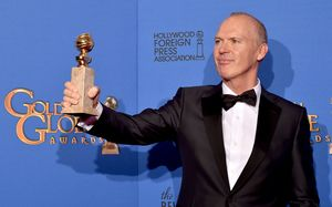 Michael Keaton won Best Actor at the Golden Gloves for Birdman.