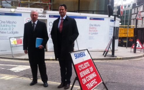 Chris Cairns arriving at the Old Bailey in London.