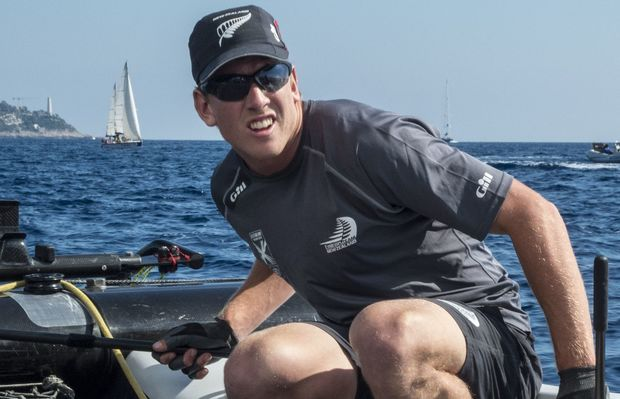 The New Zealand sailor Peter Burling.