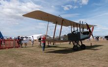 BE 2F oldest plane in NZ and only one of its kind still flying.