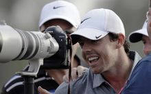 The Northern Irish golfer Rory McIlroy.