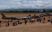 planes at Wings over Wairarapa