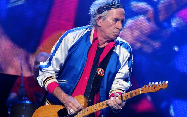 Keith Richards said he was initially wary about penning a children's book, given his reputation.