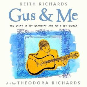 Rolling Stone's guitarist Keith Richards has written a children's book about the man who inspired him to play the guitar.