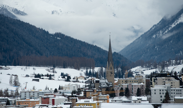 The research was revealed as business and political leaders gather in the Swiss resort of Davos for the annual World Economic Forum.