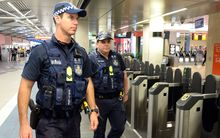 "Australia has raised the threat level of a terrorist attack against police officers to ""high""."