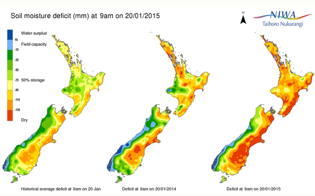 Drought in New Zealand