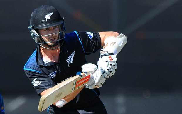 Black Cap player Kane Williamson during Match 4 of the ANZ One Day International Cricket Series between New Zealand Black Caps and Sri Lanka at Saxton Oval, Nelson.