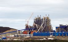 Koniambo nickel plant