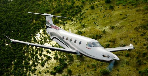 The service will be provided by a pressurised nine-seater aircraft, the Pilatus PC12.