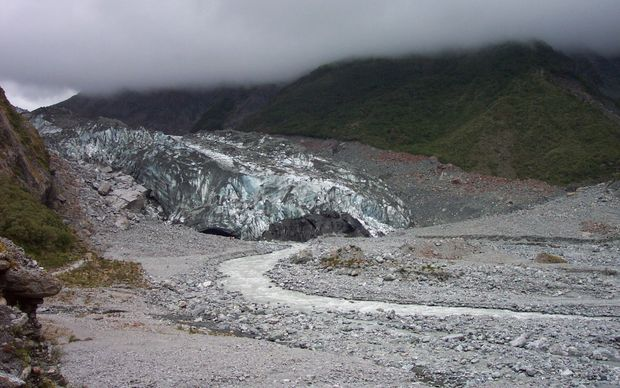 Fox Glacier in 2005