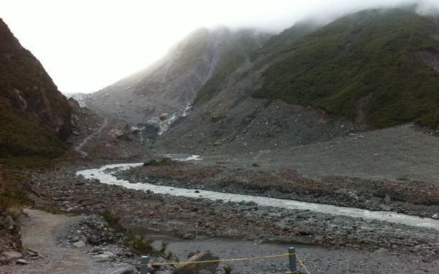 The glacier in 2015.
