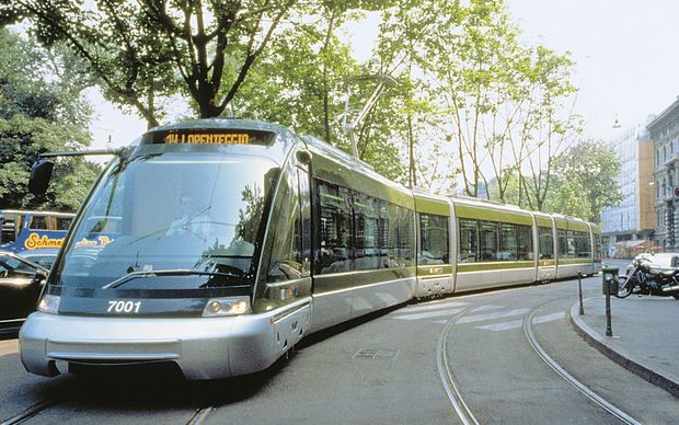 Light Rail routes can carry three times the number of passengers as buses.