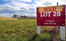 A lot in Faringdon, Rolleston Town, is sold.