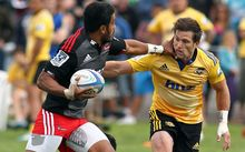 Manu Samoa midfielder Rey Lee-Lo is back at the Hurricanes after a season with the Crusaders.