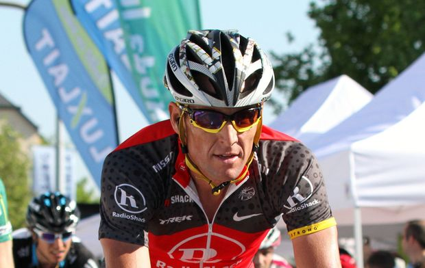 American cyclist Lance Armstrong in 2010