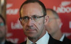 Labour Leader Andrew Little at his state of the nation speech.