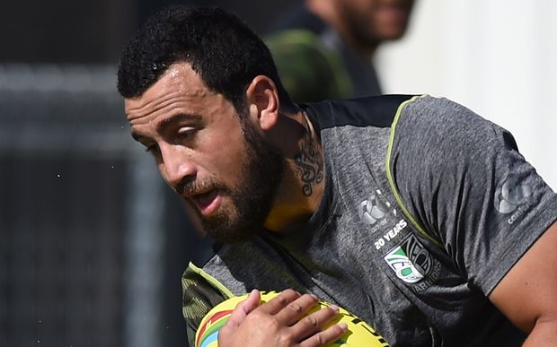 Ben Matulino in Warriors training