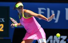 Madison Keys has eyes only for the ball in Melbourne