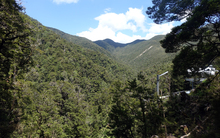The site of Pike River Mine