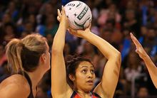 Former Silver Ferns squad member Julianna Naoupu now plays for Samoa.