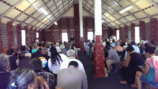 Nearly 200 people are attending the hui at Otiria Marae.