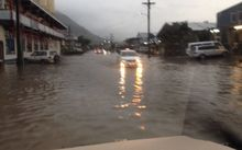Parts of Apia have been flooded overnight as Samoa continues to experience heavy rain.