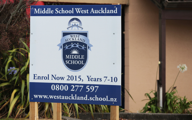 Middle School West, Auckland.