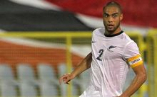 Winston Reid in action for the All Whites.