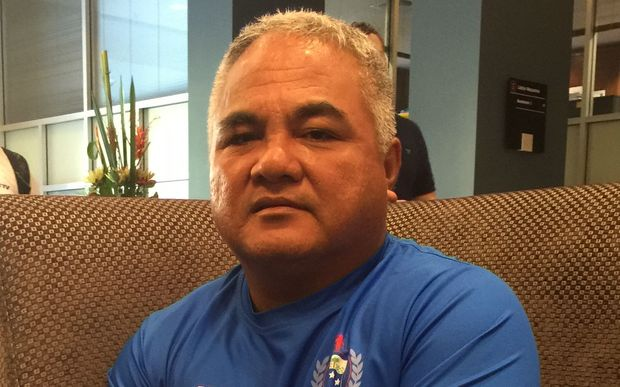 Outgoing Samoa sevens assistant coach and manager Galumalemana Rudolph Moors.