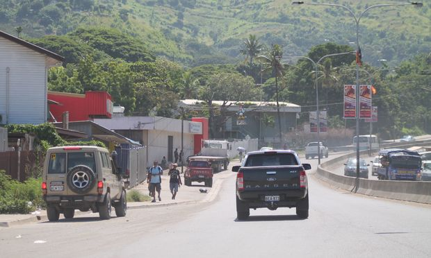 Png capital to get roading boost radio new zealand news for Kr motors port moresby