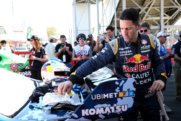 2014 V8 Supercar Series champion Jamie Whincup.