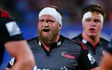 Prop Joe Moody's face embodies how his Crusaders felt in Brisbane