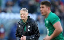 Ireland rugby coach Joe Schmidt