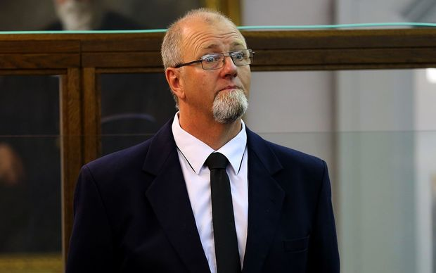 Mark Lundy at the High Court at Wellington.