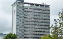 Auckland Council's almost 50 year old former HQ now stands empty.