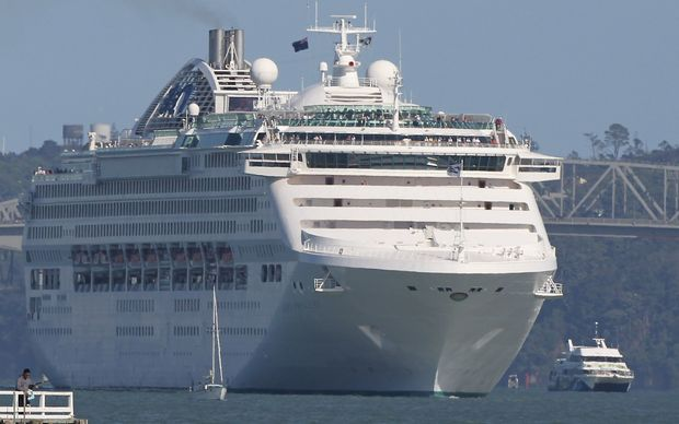 Cruise Ship Visits In Doubt Radio New Zealand News - Auckland cruise ship arrivals