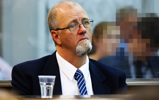 Mark Lundy at the High Court in Wellington on Wednesday.