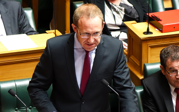 Labour Party leader Andrew Little in question time.