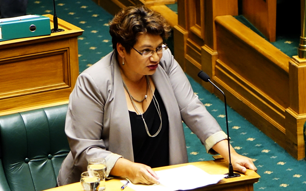 Green Party co leader Metiria Turei in question time.